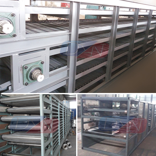 Food processing equipment snack making mesh belt fruit drying machine