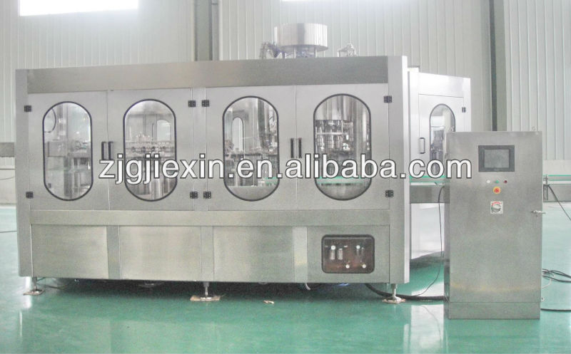 Automatic juice rotary filling capping machine
