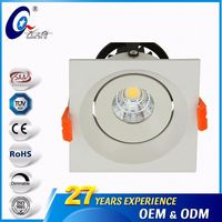Square 7W/9W Aluminum Led Recessed 3Inch Ceiling Light