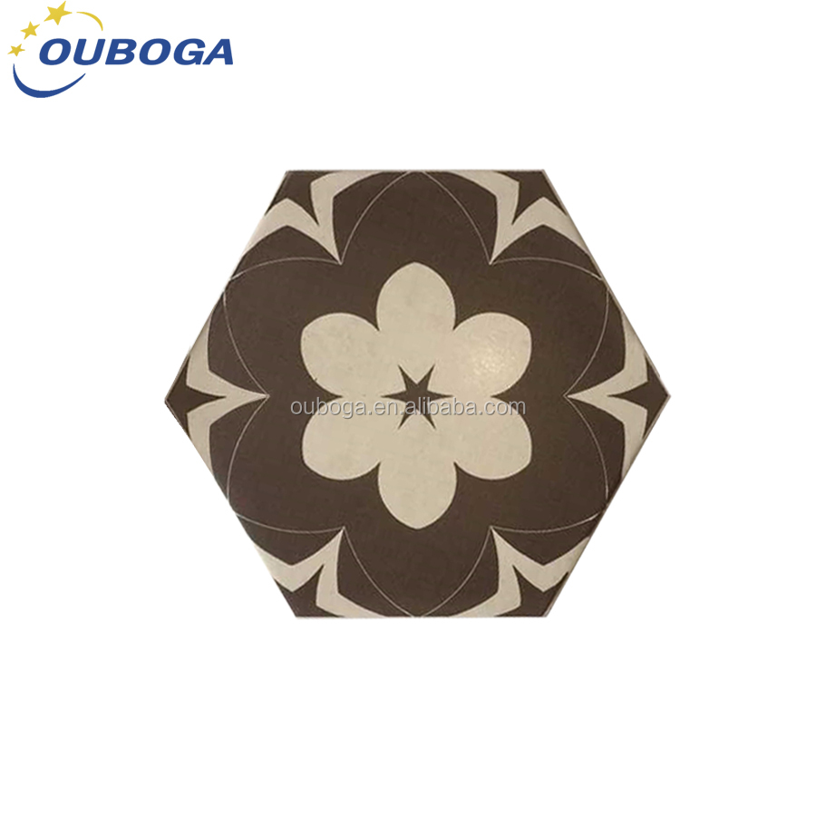 wholesale high quality hexagonal ceramic tiles wash basin wall tiles front wall
