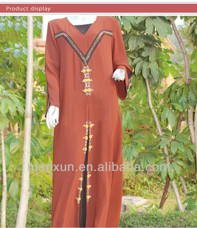 2013 Design Baju Kurung Islamic Wear elie saab dresses for sale