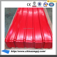 Selling well products galvanized sheet metal roofing at GZJ