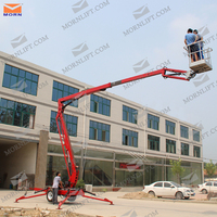 Hot sale small electric articulating manlift