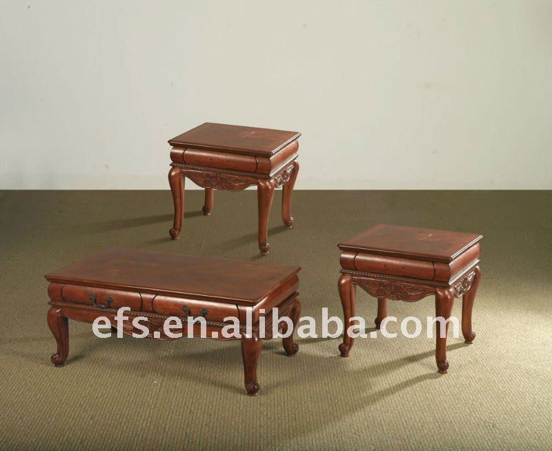 clasical hand carved coffee table