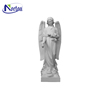 Wholesale large marble stone angel statues for gardens NT-00397RI