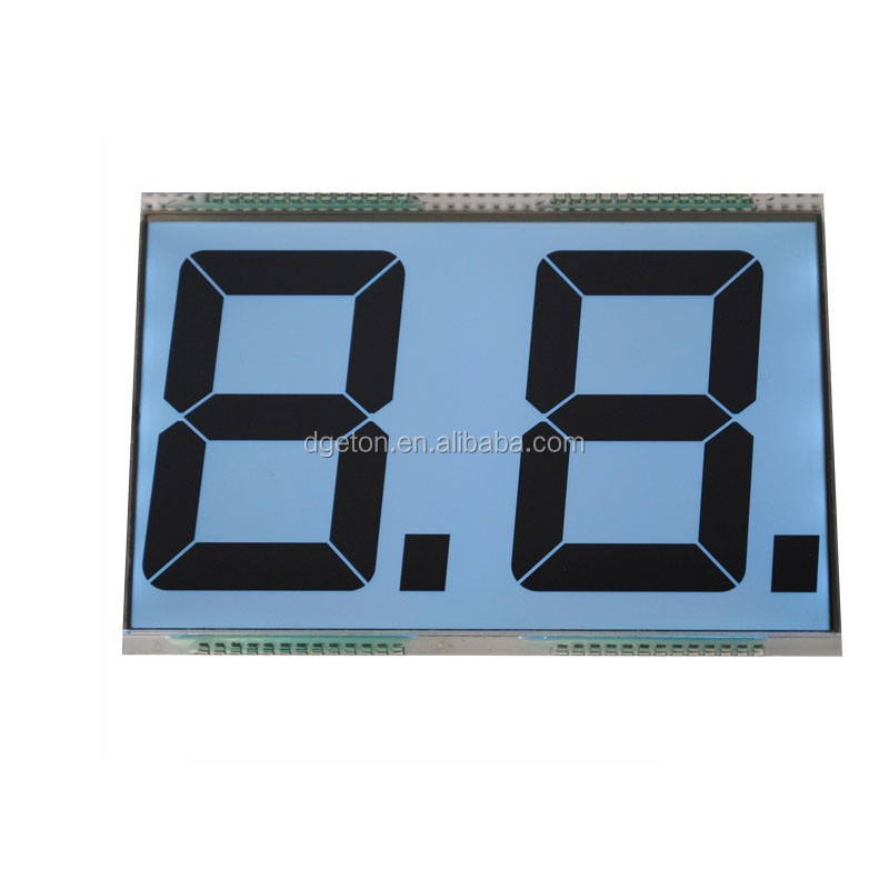 2 digit Scale LCD/Instrument LCD