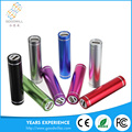 Compact and easy to carry cylindrical shape rohs power bank
