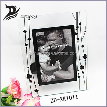 clear glass 4x6 photo frame