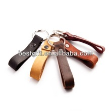 Cowhide leather key fob cell phone leather key fob mobile phone.