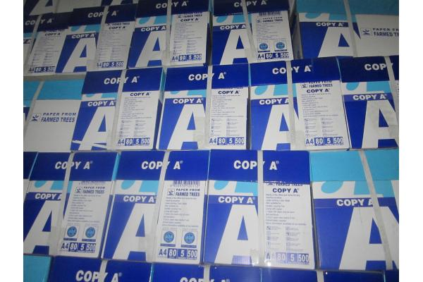 supply Wood Pulp office copier fax white A4 size copy paper 70/75/80 gsm