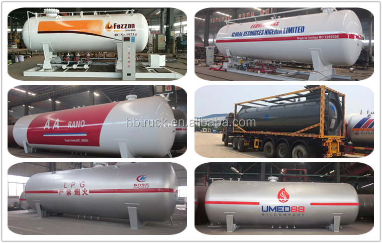 ASME Standard 5m3-60m3 LPG gas plant for Africa