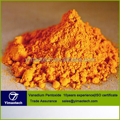 High purity pentoxide vanadium,vanadium oxide, V2O5 with good price