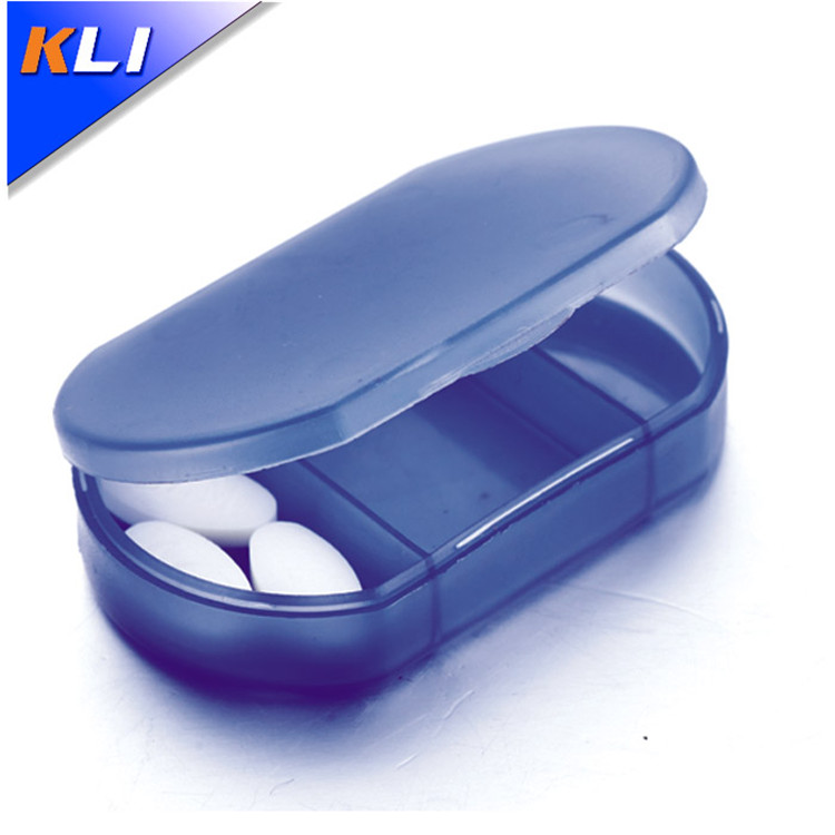 Factory supplier plastic portable pill case