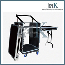 16U Mixer Rack Cases with table for DJ equipment