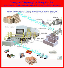 Full Automatic egg tray machine production line