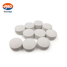 New promotion 500mg oyster shell calcium tablet iron & zinc chewable 5 ton punch press machine