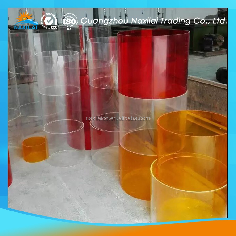 plastic pipe industry PMMA Material acrylic paint tube set