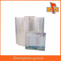 heat sealable thermal lamination bopp film manufacturer for CD packaging