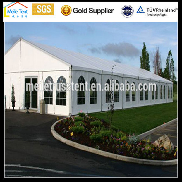 clear span with windows 25m Span Marquee Outdoor Party new design canvas big exhibition banquet wedding tent for sale