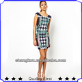 ODM& OEM manufacturer fashion design full digital printing dress party shkz22