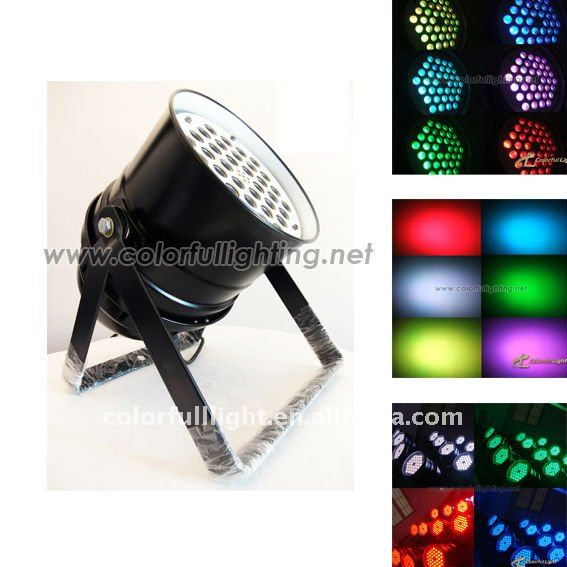 Super Bright stage light 36pcs 3w 3 in 1 Led Par 64 Light