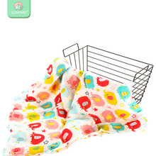 Elinfant 2layer bamboo cotton muslin baby blanket baby car use super soft washable swaddle kids wipe