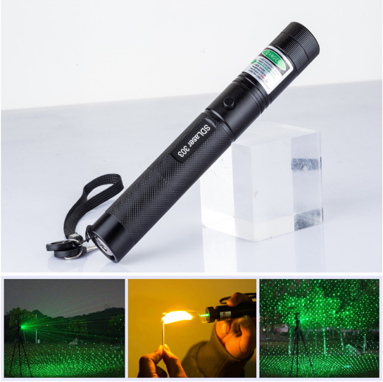 2017 Professional New Laser 303 Pointer 1000mw Waterproof High Power Lazer Burning Presenter Laser Pointer