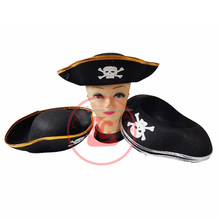 Most Fashion Morden Caribbean Pirate hat Carnival party hat