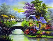 Outdoor canvas printed painting