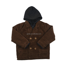 The latest design hooded kids clothes casual jacket winter boys coat suit