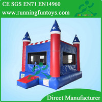 Inflatable game bouncer, toddler inflatable bouncer, usa theme inflatables