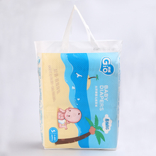 OEM alva cotton disposable cloth elastic waistband stocklots softextile happy baby diaper