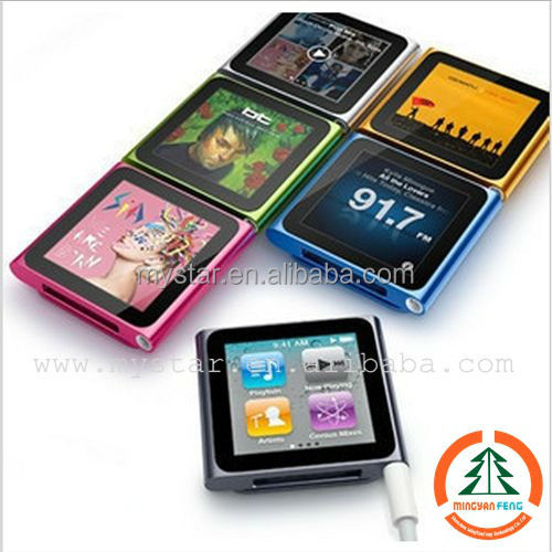 Hot selling 8GB bluetooth watch mp3 player, digital mp3 player