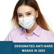 PP material import from Germany Physical inactivation anti-Ebola Antiviral Surgical Face Mask