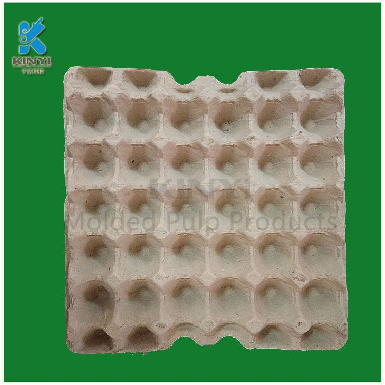 New design recycled paper pulp egg tray supplier