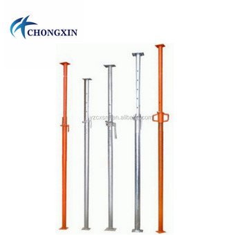 High Quality Adjustable scaffold props. Steel Props