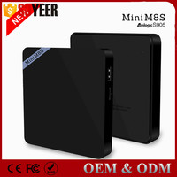 Soyeer Minim8S S905 Sex Pron Video Tv Box Free Arab Sex Movies Keyboard And Mouse Quad Core Tv Box Amlogic S905 2Gb/8Gb