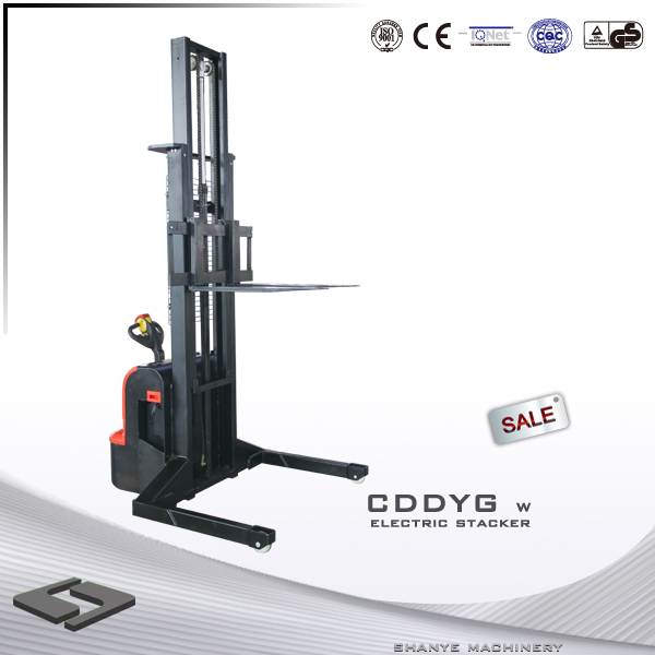 Max.fork height 3500mm 1500KG used electric pallet stacker