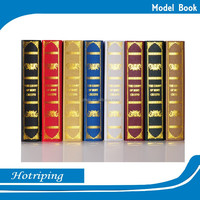 Wholesale model book, china printing book used for library, office