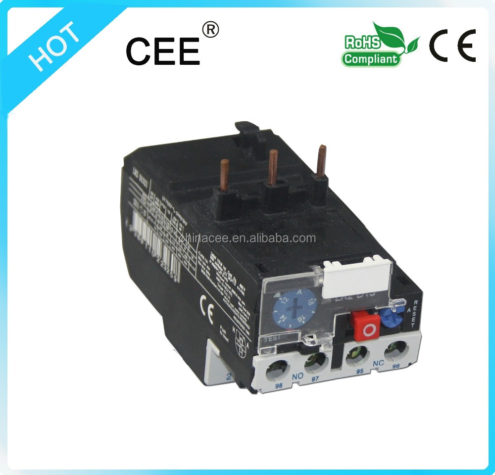 CER2-D13 Hot sale high quality ac electrical magnetic thermal overload relay