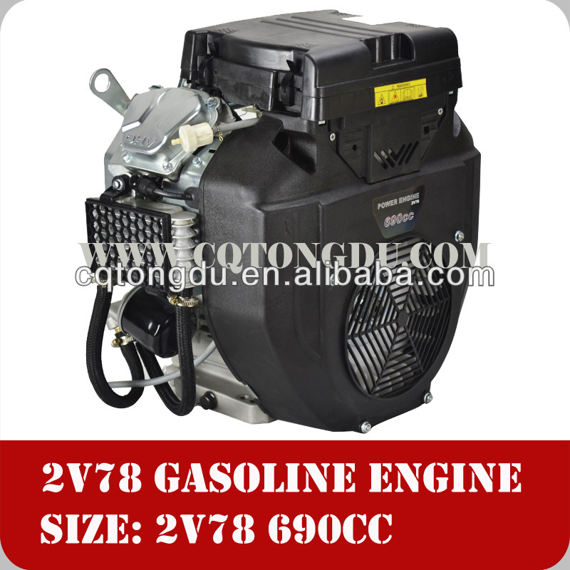 Air cooling type 4 stroke 2 cylinder engine gasoline 2V78