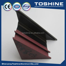 Great! Furniture Anodised aluminium extrusion AND Glad Supplier Aluminium extrusion profile manufacturer in china