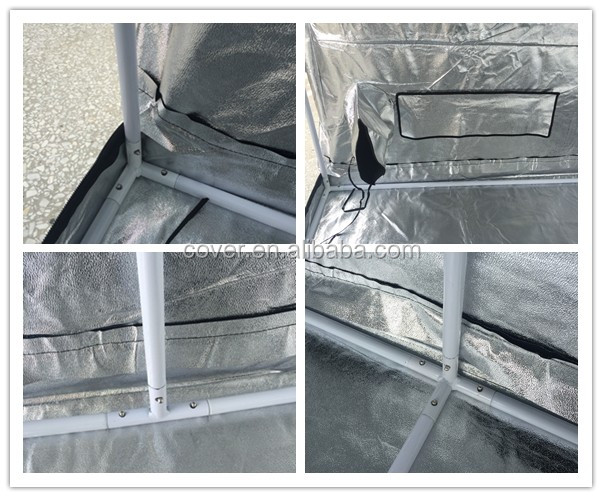 600D mylar outdoor greenhouse/grow room/grow tent