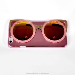 New Arrival Purple Sunglasses PC Mobile Phone Case for IPhone6