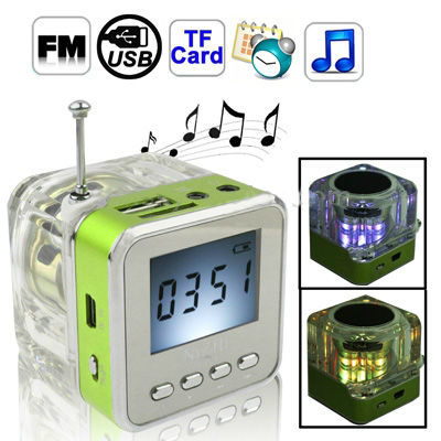 micro sd card reader mp3 player speaker