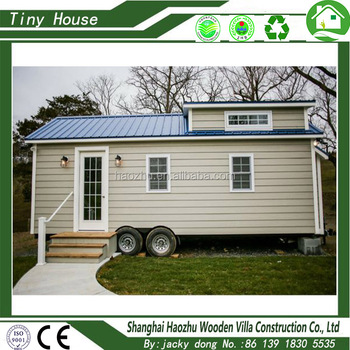 Prefabricated movable trailer tiny house for sale