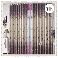 home textile 100% polyester hotel quality blackout curtain fabric,elegant living room curtain