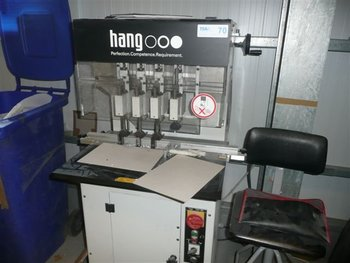 HANG 114-004 FOUR HEAD PAPER DRILL