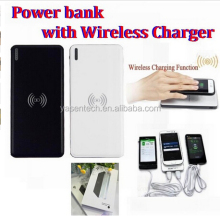 10000mAh Rechargeable Battery Qi wireless power bank charger USB Charging Pad Powerbank With LED indicatorsFor Cell Phones