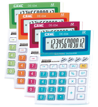 Hot selling machine grade 12-digit office calculator price